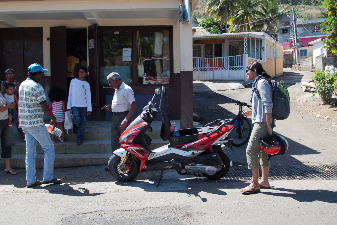 Finding gas Mauritius
