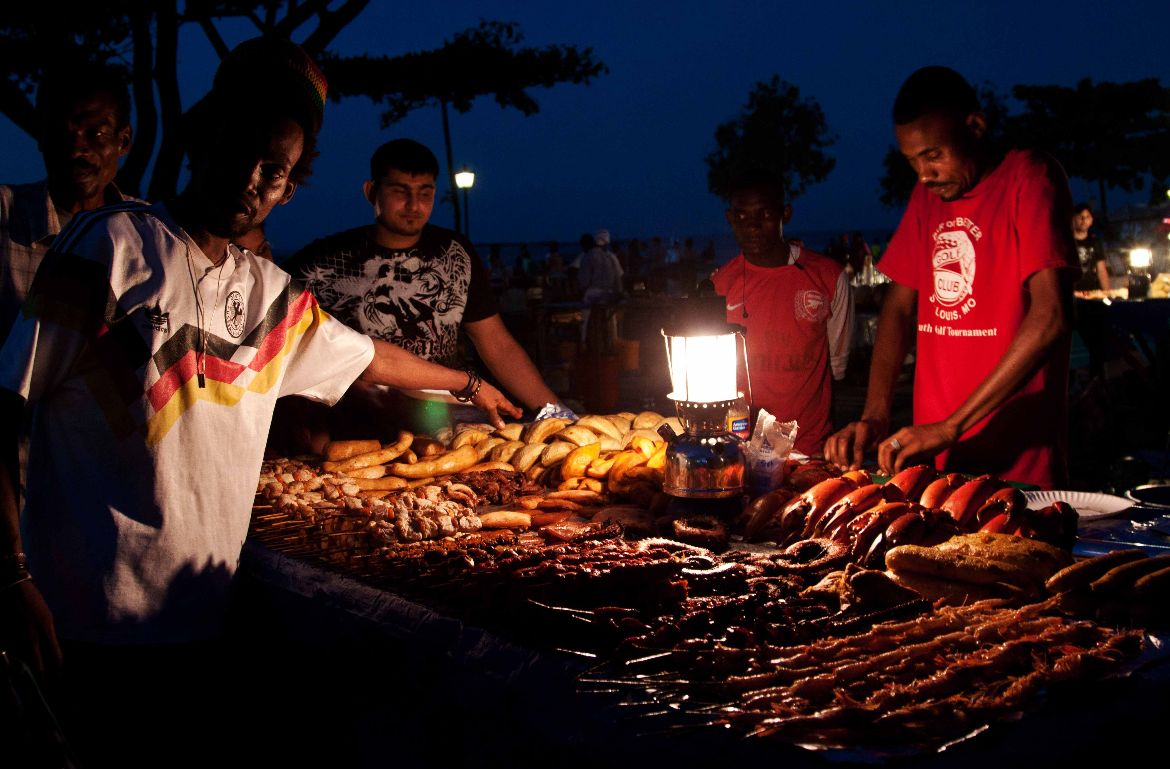Night Market Stone Town