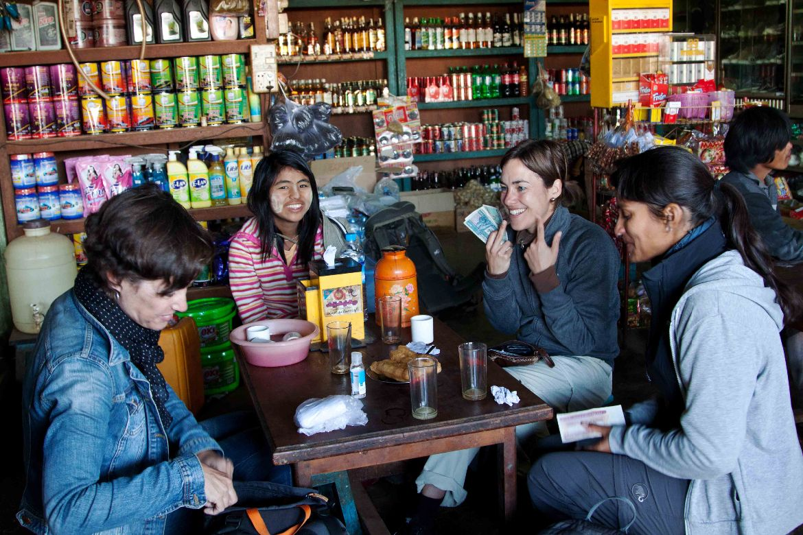 Breakfast Trekking to Inle Lake 3