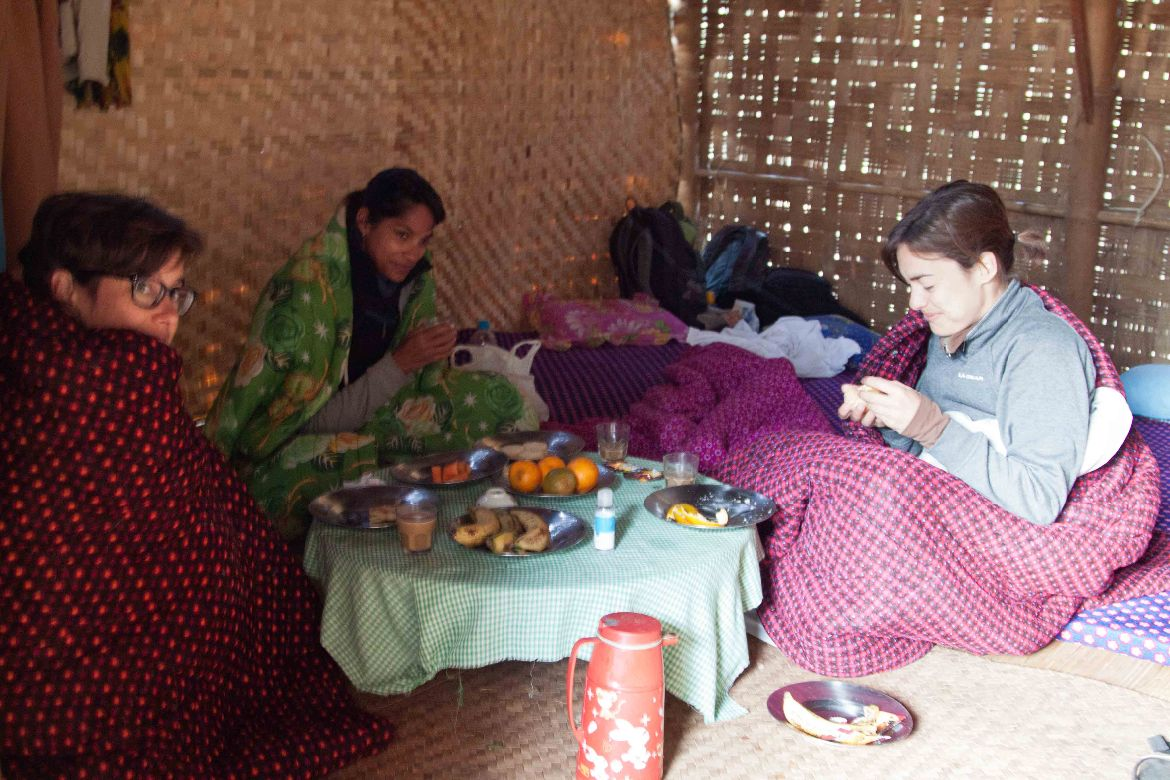 Breakfast village Trekking