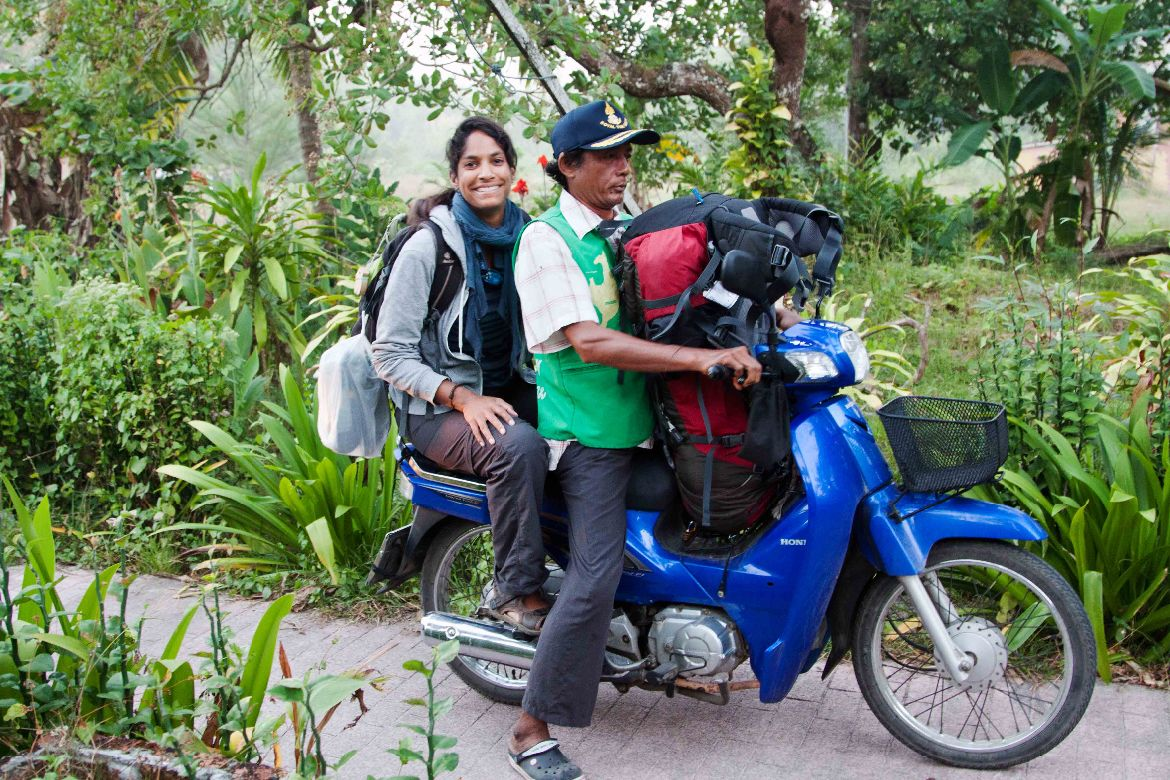 Motorcycle Taxi Thailand