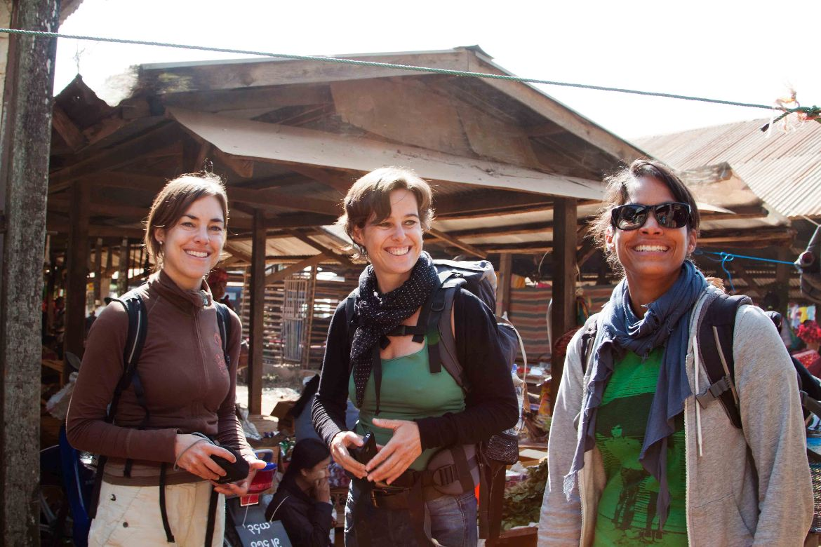 Market day Trekking to Inle Lake 3