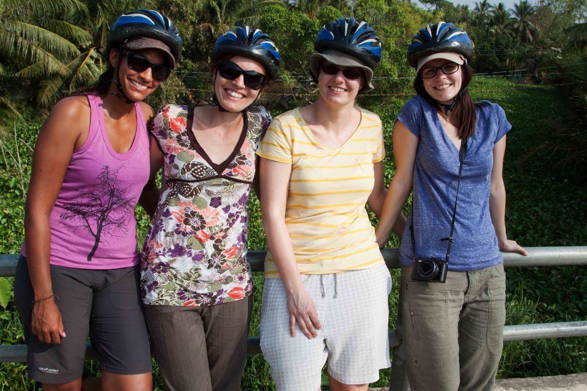 First day cycling tour Mekong Delta 7