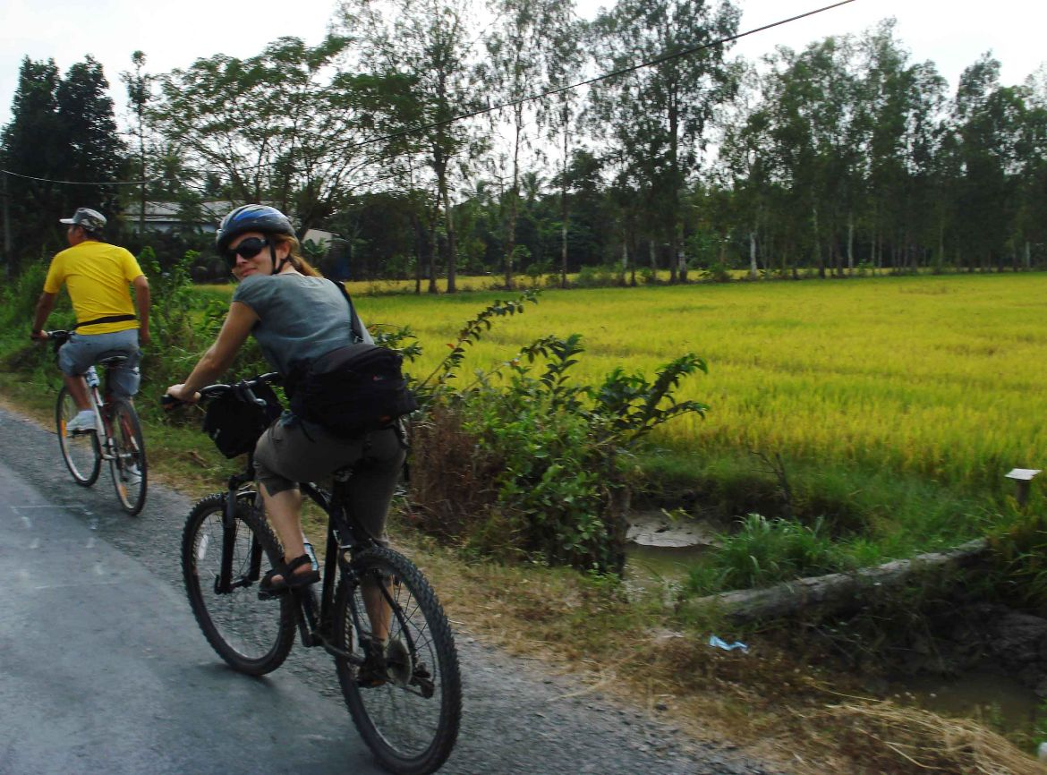 First day cycling tour Mekong Delta 9