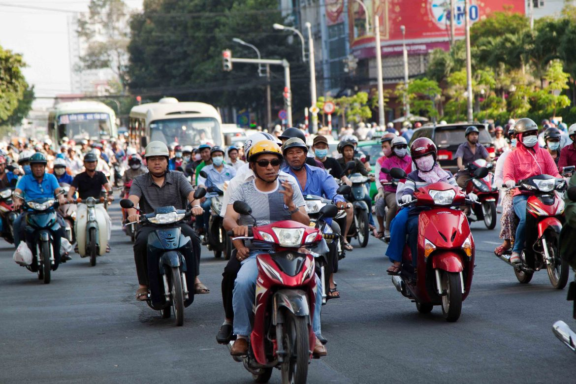 Scooter motorbikes Ho Chi Minh City