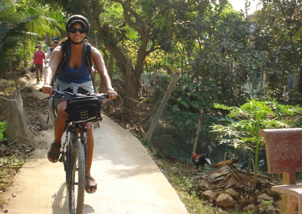 Second day cycling tour Mekong Delta 97