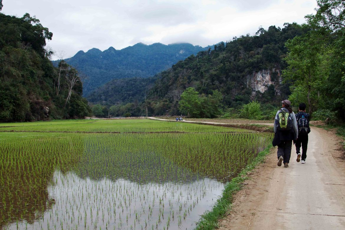 Trekking Ba Be Nationalpark Vietnam