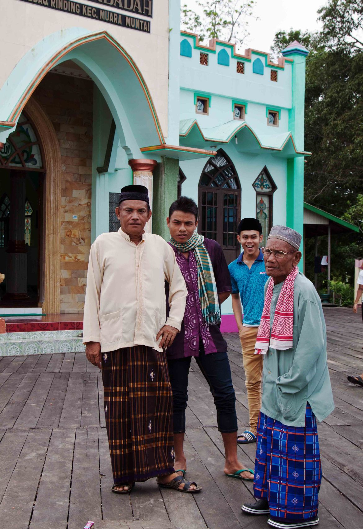 Muara Muntai village people