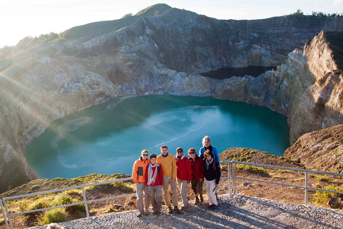 Mount Kelimutu Crater Lakes