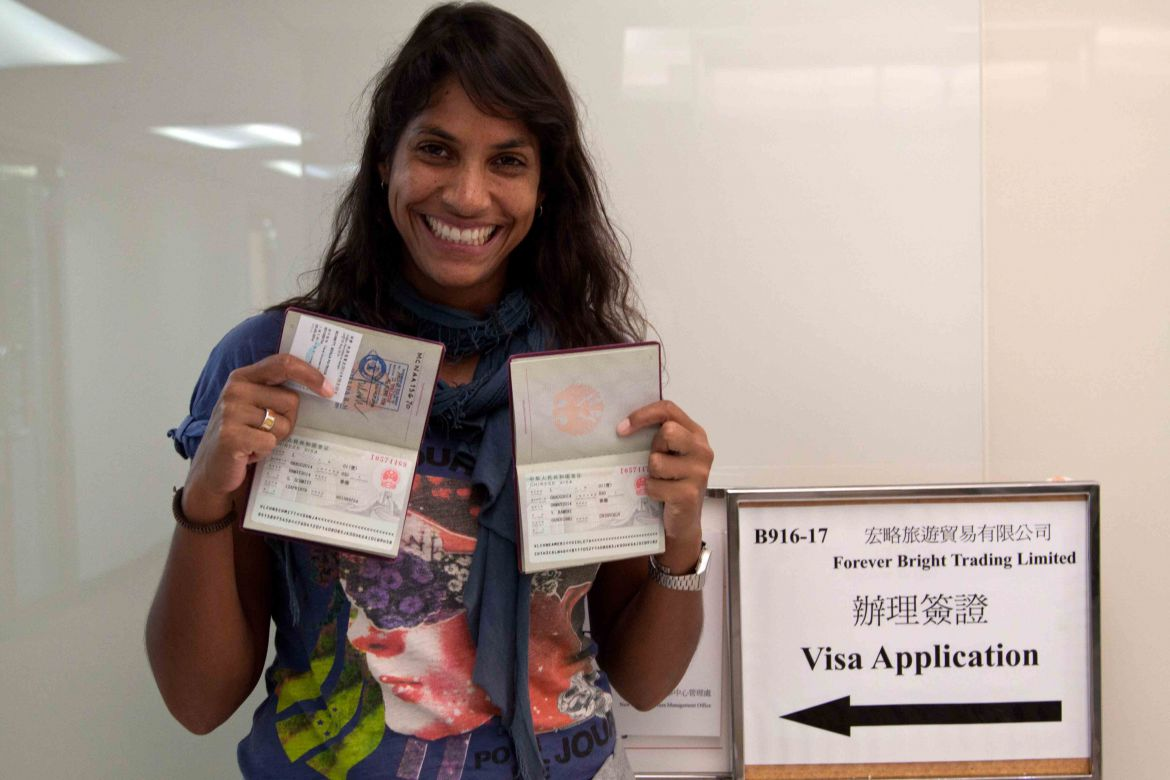Hong Kong China Visa