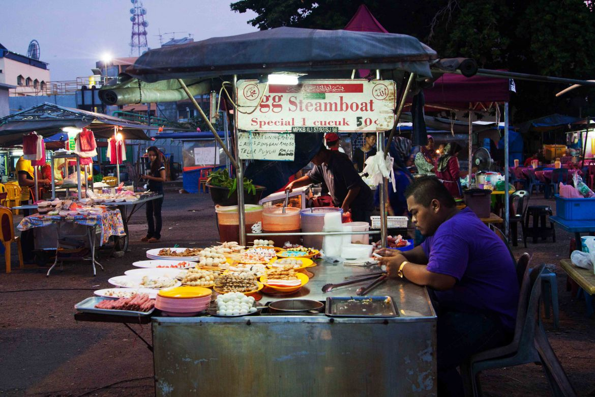 Food Night Market Kota Bharu